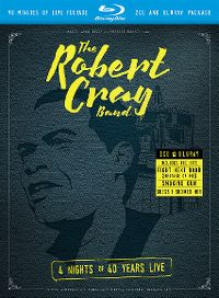 Cover The Robert Cray Band - 4 Nights Of 40 Years Live [DVD]